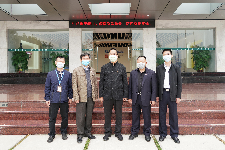 广州市应急管理局黄彪局长一行到白云山制药总厂调研