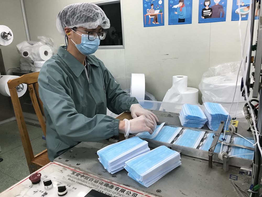 奋战疫线   不负韶华——记总厂青年员工刘嘉俊支援广药集团口罩生产工作